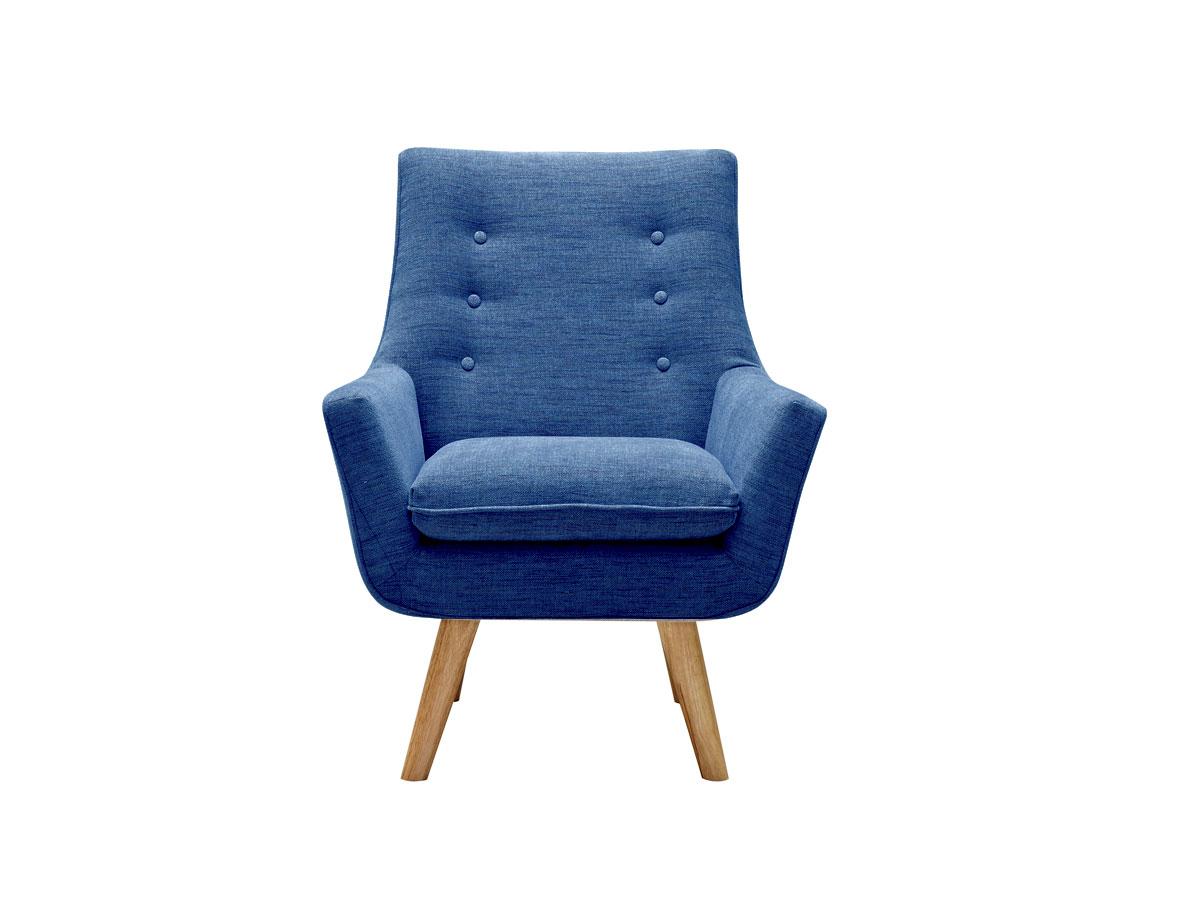 Como armchair blue 6ixty design