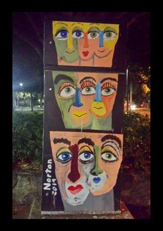 6ixty visual art prints 24' x 16'
