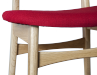 6ixty Chair detail red
