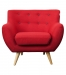 6ixty armchair red