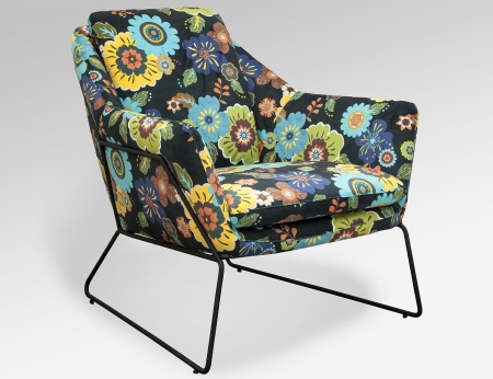 Cube chair - Floral