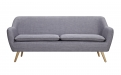 6ixty Luxe Sofa Grey