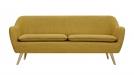 6ixty Luxe Sofa Yellow