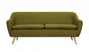 6ixty Luxe Sofa Green