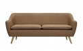 6ixty Luxe Sofa Tobacco