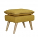 6ixty Luxe Stool Yellow1