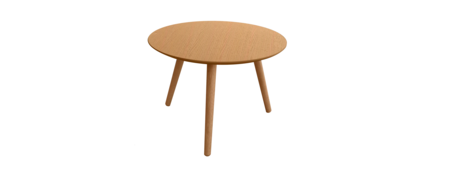 Art table oak round