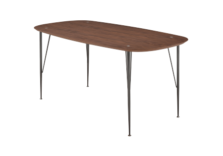 6ixty2 Table walnut 220cm